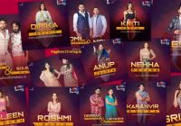 bigg boss 12 contestants list