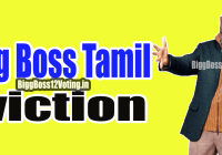 bigg boss tamil eviction